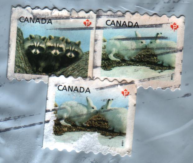 Kanadische Briefmarken